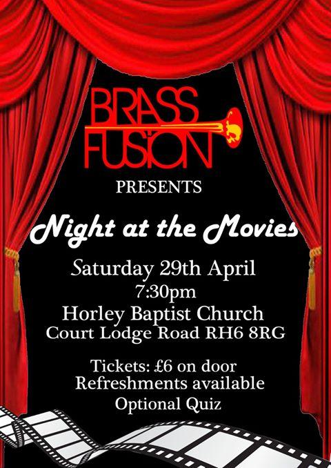 Horley Movie night poster