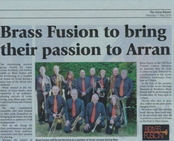 190510 Arran press cutting