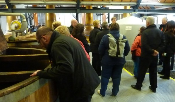 Tour of Isle of Arran Distillery, 18 May 2019