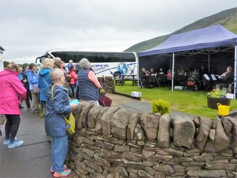 Concert at Isle of Arran Distillery, Lochranza, 18 May 2019