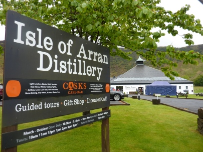 Concert at Isle of Arran Distillery, Lochranza, 18 May 2019