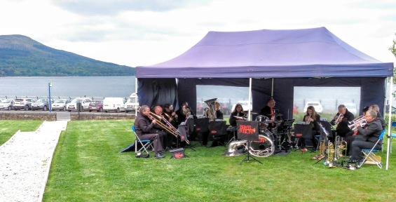 Concert at the Douglas Hotel, Brodick, 19 May 2019