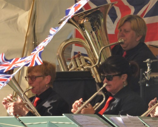 Ruth Hayhurst, Alfie Hughes and Sian Buss